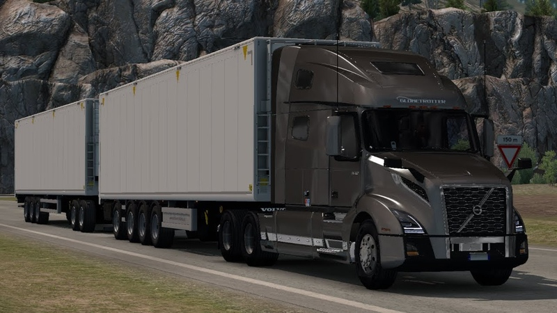 [1.32] Euro Truck Simulator 2 | Volvo VNL Globetrotter 2018 | Mods