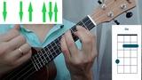 How to play on ukulele Confessa by Adriano Celentano