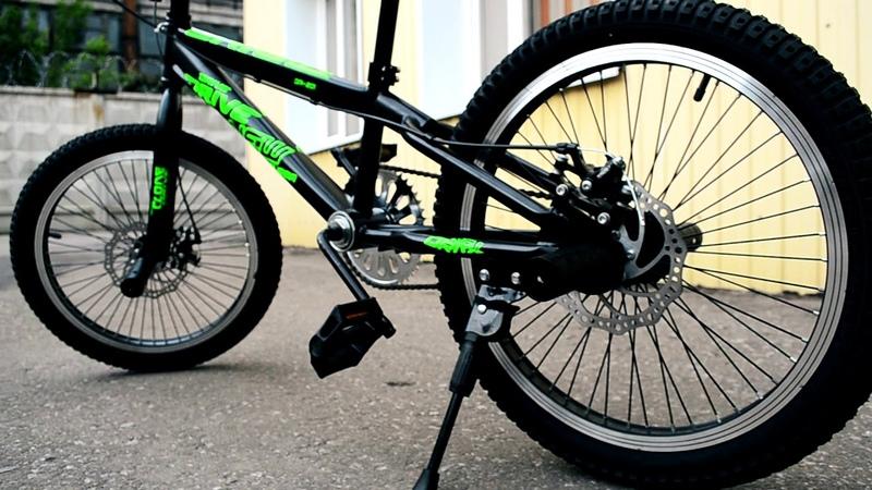 Велосипед BMX drive bike 20. Видеообзоры.