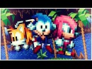 Sonic Mania Chibi Sonic Tails Knuckles MOD Gameplay Download Link