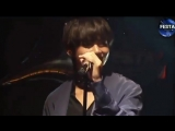 the way taehyung sang his part and them smiled at jins direction - - i am not okay i taejin jinv