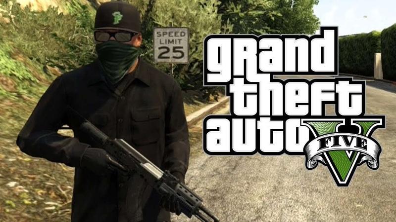 Grand Theft Auto 5 Играем вместе с Mr Gamer Играем за Франклина
