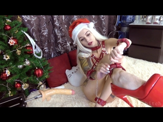 [manyvids.com] purple_bitch - x-mas edition double anal creampie 1080p