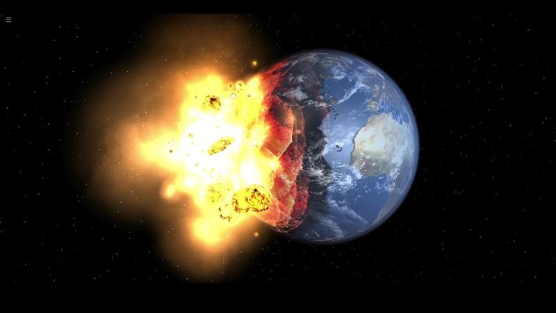 Что будет если Луна упадёт на Землю