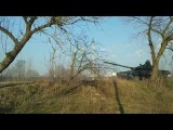 Russian Tanks being unloaded at Klimovo, Bryansk, Near Ukrainian border - March 23?
