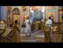 Преосвященный епископ Амвросий возглавил литургию в день памяти святого Амвросия Медиоланского