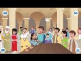 Библия для детей-Сошествие Святого Духа 34 серия