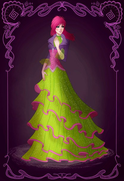 Картинки Винкс Принцессы и дневник от BRIANNA