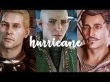 cullen + solas + dorian &amp inquisitors hurricane