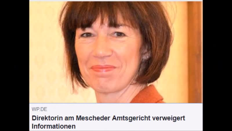 Ehefrau von Friedrich Merz begeht als Direktorin am Mescheder Amtsgericht offenen Rechtsbruch!