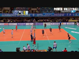 Volleyball actions from defence to attack (hd)