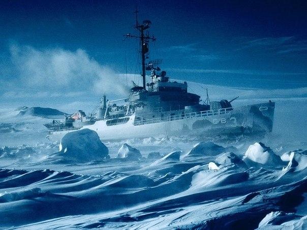 Ледокол, Антарктида