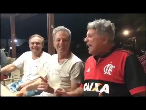 Bomba Presidente do Fla bêbado amigo confirma Arrascaeta