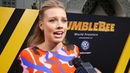 Gracie Dzienny talks about Bumblebee at World Premiere
