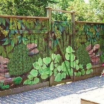 Как оформить забор на даче