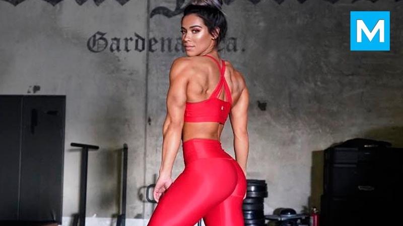 HOTTEST GYM MONSTER - Cassandra Martin   Muscle Madness