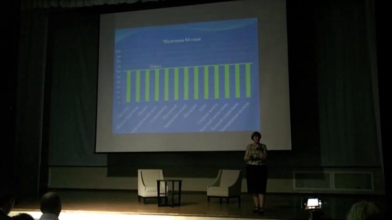 Программа 120! Выступление Ирины Чих на Форуме 2018 Аврора