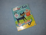 Pete the Cat and The New Guy Children's Read Aloud Story Book For Kids By James Dean