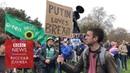 Видео Путин за брексит : Тысячи человек вышли на улицы Лондона и потребовали нового референдума