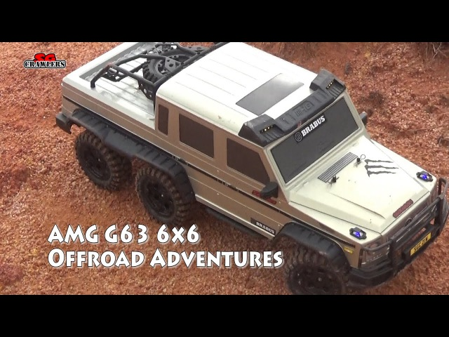 HG P601 Mercedes AMG G63 6x6 G Wagon truck in the trails!