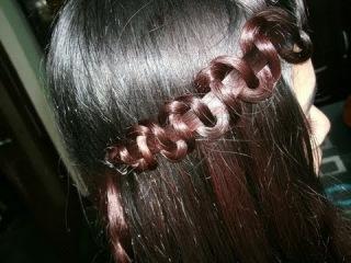 How to Snake Braid  Hair Tutorial водопад прическа косички