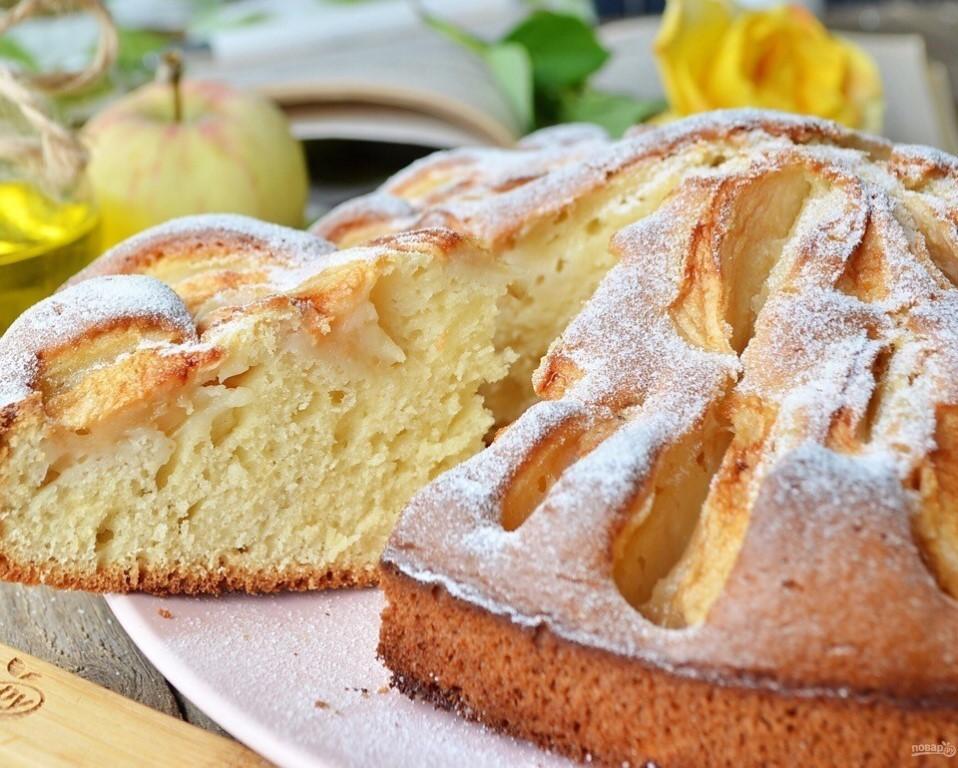 Яблочный пирог из детства 🍏 Получится у всех!