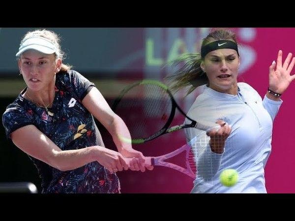 Elise MERTENS vs Aryna SABALENKA Highlights LUGANO 2018