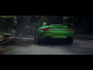 Beast of the green hell (mercedes-amg gt-r)