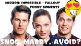 Mission Impossible - Fallout Cast Funny Moments (Tom Cruise, Rebecca Ferguson, Henry Cavill)