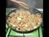 Гречнево-рисовая каша с овощами