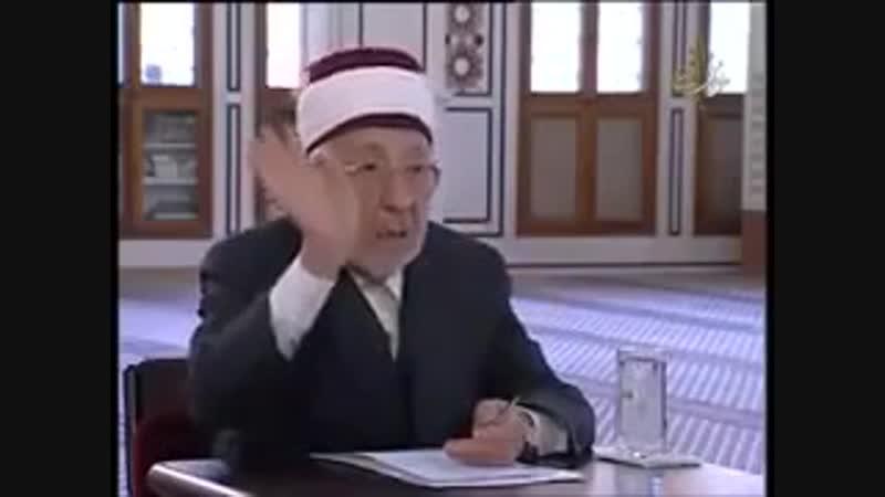 О заблуждении террористов ваххабитов - Шейх Рамазан Аль Бути (Рахимахуллах).