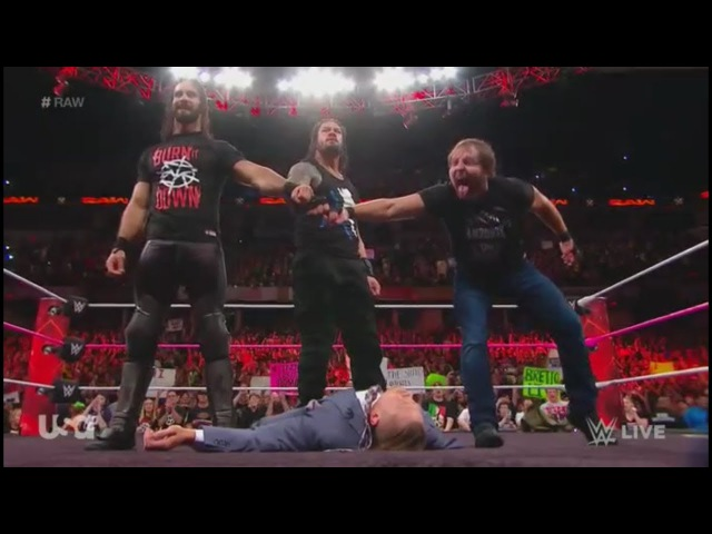 The SHIELD REUNITE (FULL Segment) - RAW Oct. 9. 2017 (HD)