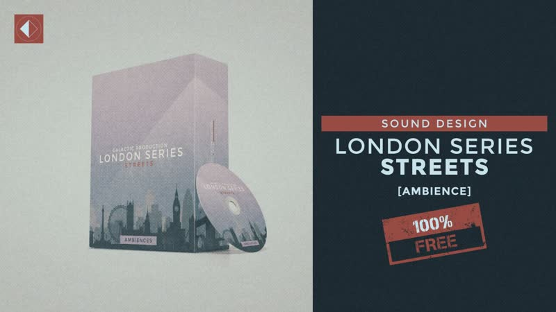 London Streets Free Sound Effects Pack SFX Sound Design Ambience