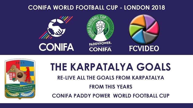 CONIFA World Football Cup 2018 - Karpatalya Goals