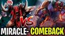 Miracle- Throws The Game And Get Rekt!! - Bloodseeker VS Ursa 7.17 - Dota 2