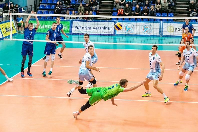 Волейболисты столичного «Динамо» одержали выездную победу в Уфе