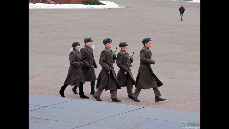 Почетный караул г Бреста Пост №1 Брестская крепость