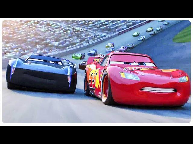 Cars 3 Lightning McQueen Vs Jackson Storm (2017) Disney Pixar Animated Movie HD