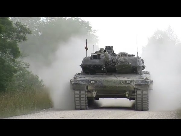 Danish Army Leopard 2A5 Tank in Action and Maneuvers || Military Hub
