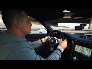 Белый демон с красной кожей . Porsche 911 Turbo S