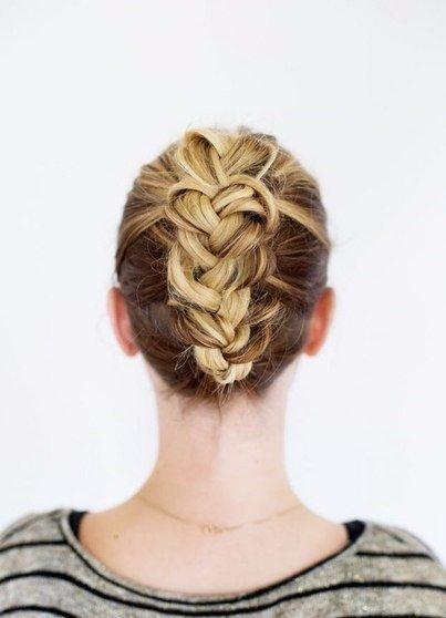 Мастер-класс оригинальной косы (10 фото) - картинка