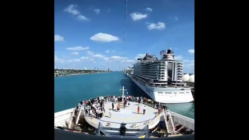 Cruise ship MSC SEASIDE