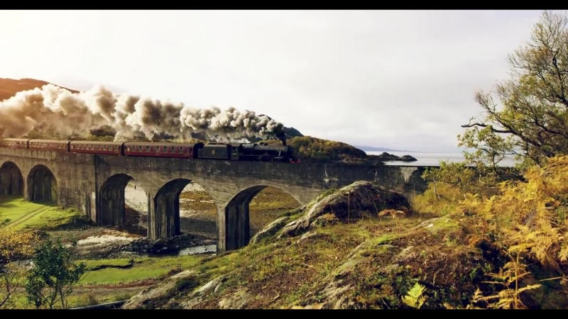 Шотландия в 8K