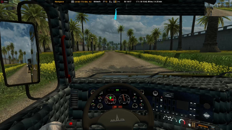ETS 2 - Great Osada Map.v.1.28MAZ 6440 Sleeper - Producer Morris.cz (2.11.2017)