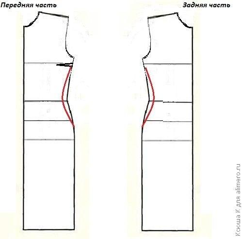 Вечернее платье из гипюра выкройки