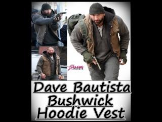 Dave Bautista Bushwick Hoodie Vest