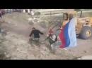 Pt Moment when Russian forces entered N Homs enclave de facto surrendering the pocket