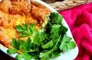 Творожно-картофельное суфле с кинзой