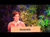 2 of 2 - Benedict Cumberbatch and Louise Brealey read Chris and Besse at Letters Live, Hay Festival (RUS SUB) - Видео Dailymotion