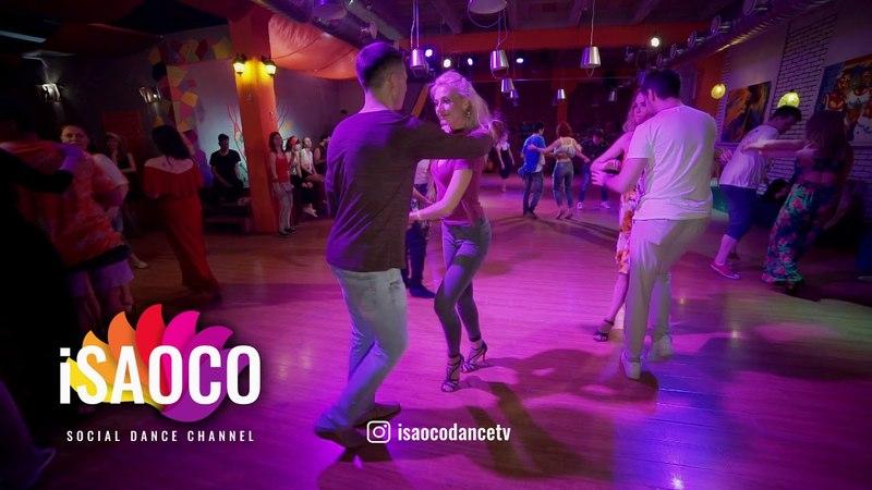 Konstantin Vil and Anzhelika Dias Salsa Dancing in Respublica Vosmera, Saturday 28.04.2018